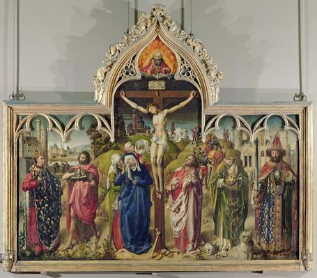 The Parlement of Paris Altarpiece, 1453-55
