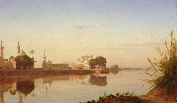 View of the Nile in Lower Egypt, c.1840