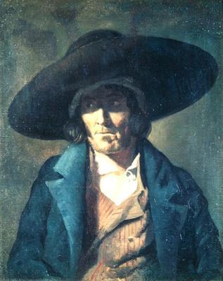 Portrait of a Man, The Vendean, c.1822-23
