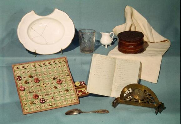 Objects used by Louis XVI