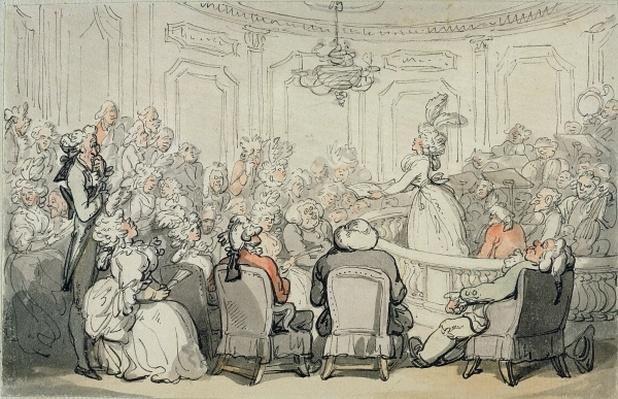 The Concert, from 'Scenes at Bath', c.1795-1800