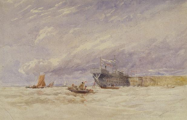 On the Medway, c.1845-50