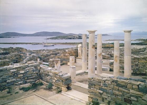 View of the House of Cleopatra