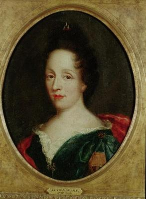 Portrait of Madame Champmesle