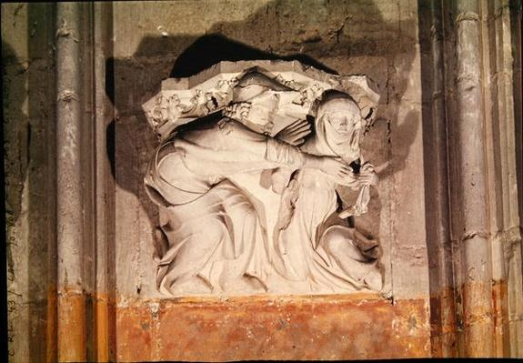 A scene galante, from the console in the transept