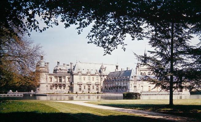View of the Grand and Petit Chateau