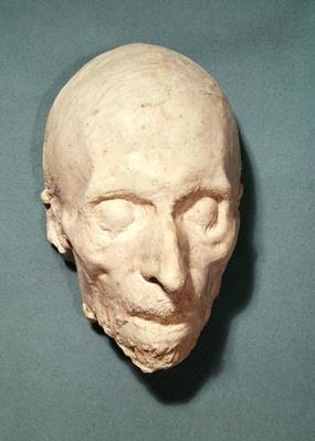 Death mask of Felicite de Lamennais