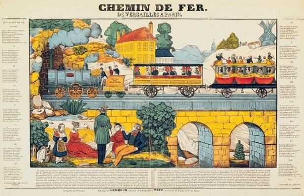 The Versailles to Paris Railway
