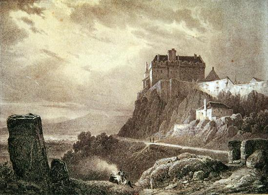 Stirling Castle, engraved by Villeneuve