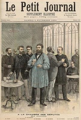 The Chamber of Deputies: The Refreshment Room, from 'Le Petit Journal', 5th November 1892