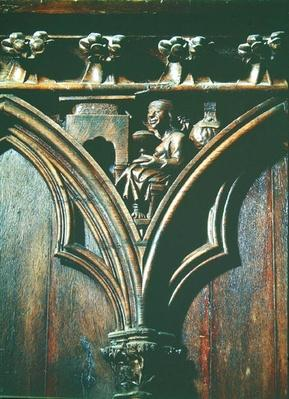 An Alchemist, from a choir stall