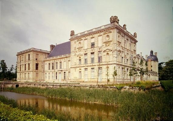 Exterior view of the chateau, built 1518-49