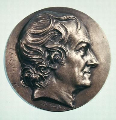 Medallion portrait of Jean Baptiste Biot