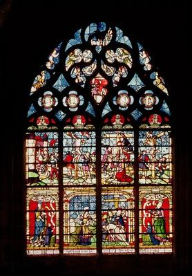 Window depicting the Passion of Christ