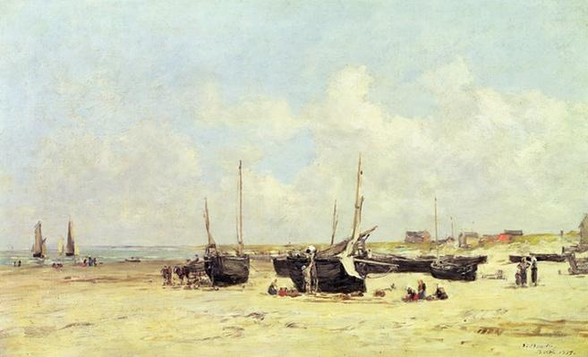 The Beach at Low Tide, Berck, 1890-97