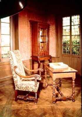 Interior of the study of Honore de Balzac