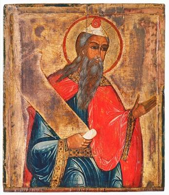 Icon depicting a prophet, Moscow School