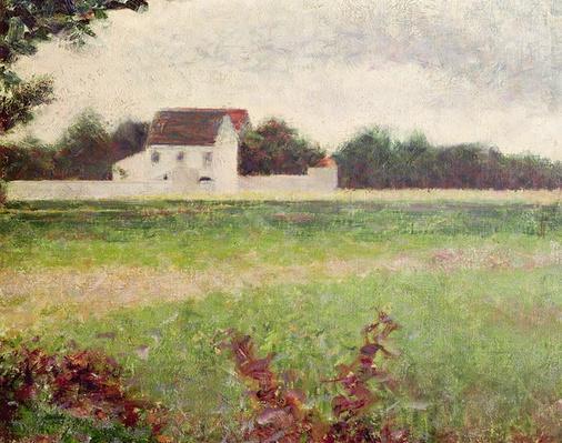 Landscape in the Ile-de-France, 1881-82