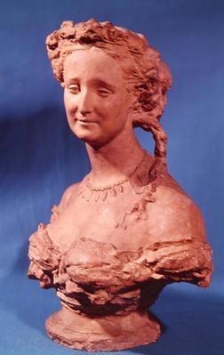 Bust of Eugenie-Marie de Montijo de Guzman