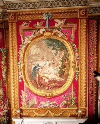 Tapestry panel depicting Cupid and Psyche, Gobelins factory, 1775