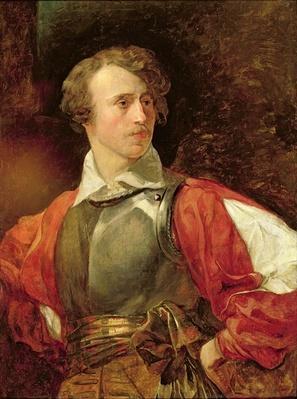 Portrait of Vladimir Samoylov as Hamlet