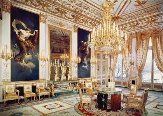 Interior of the Salon des Quatre Saisons