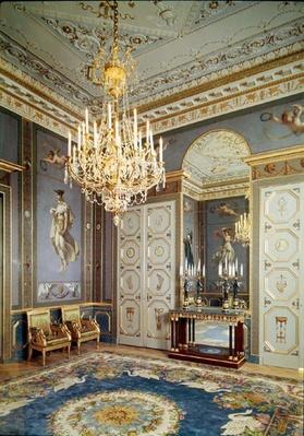Interior of the Salon de Musique in the appartment of Hortense de Beauharnais