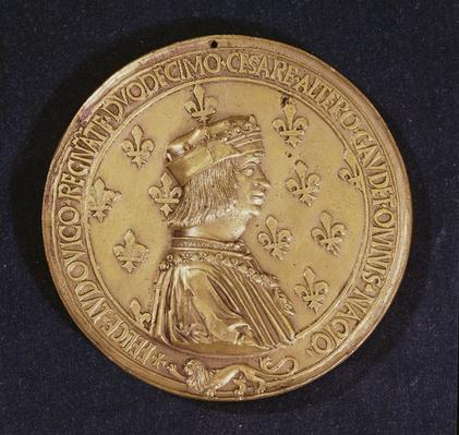 Medal depicting Louis XII