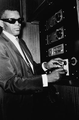 Ray Charles Adjusting Dials | African-American History