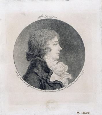 Portrait of Anne-Josephe Trewagne