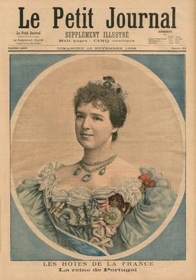 French Hosts, Queen Amelie of Portugal