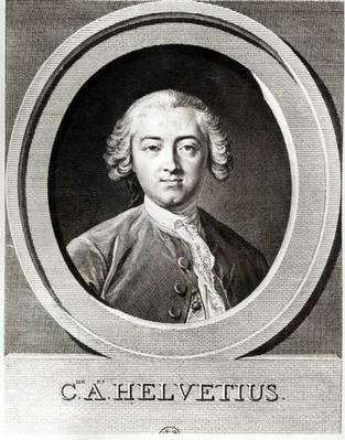 Portrait of Claude Adrien Helvetius