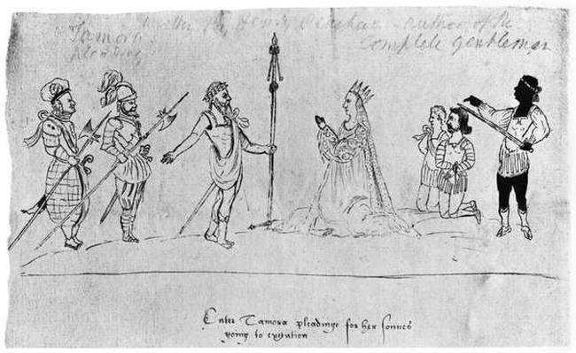 Illustration from Titus Andronicus, by William Shakespeare