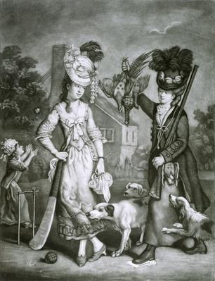 Miss Wicket and Miss Trigger, 1778