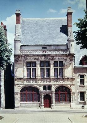 View of the Hotel de Ville, built 1526-28
