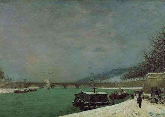 The Seine at the Pont d'Iena, Winter, 1875