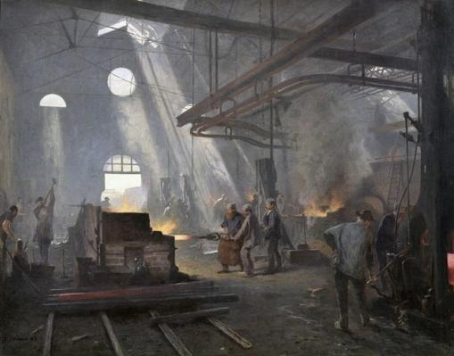 A Forge, 1893