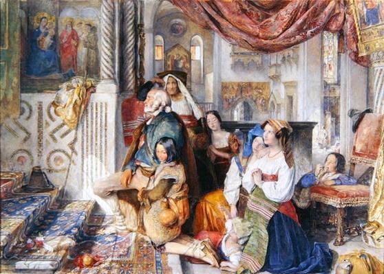 Roman Pilgrims, 1854