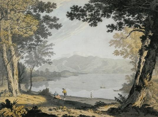 View of Skiddaw and Derwentwater, c.1780