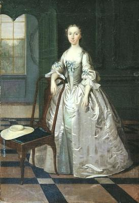 A Lady in a Drawing Room, c.1740-41