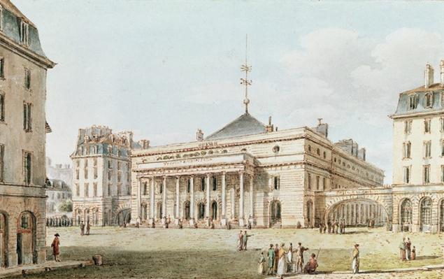View of the Theatre de l'Odeon, Paris