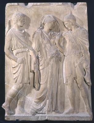 Orpheus, Eurydice and Hermes