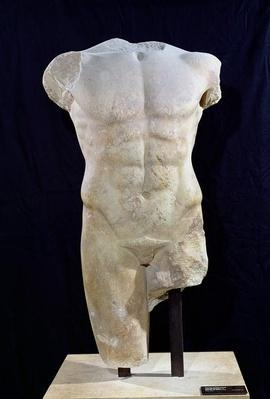 Male torso from Miletus, c.480 BC
