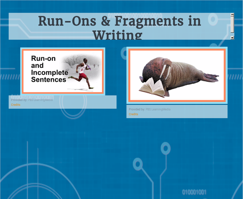 Run-ons & Fragments in Writing