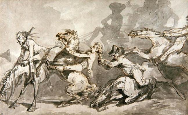 Horsemen Colliding, c.1785-90