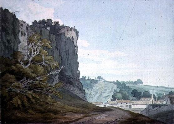 Part of Chepstow Castle, Monmouthshire