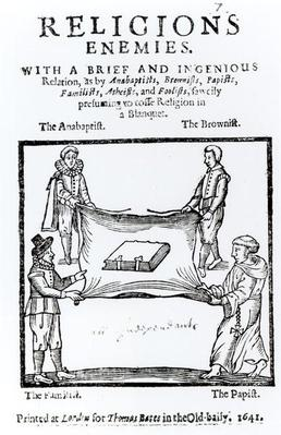 Religions Enemies, 1641