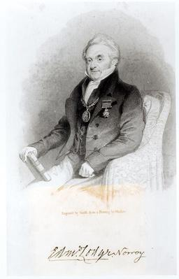 Portrait of Edmund Lodge