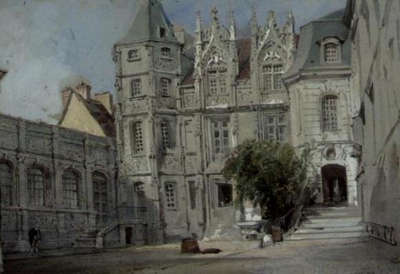 The Hotel Bourgtheroulde in the Place de la Pucelle, Rouen