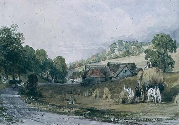 Haymaking at Ashurst, Surrey